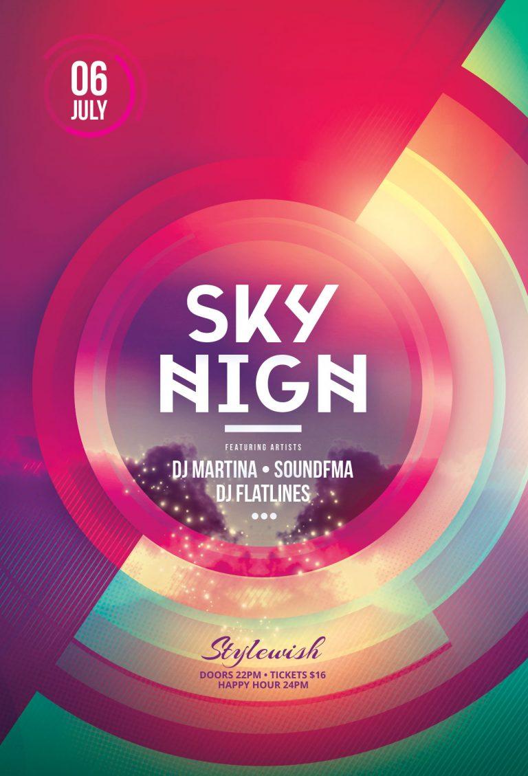 Sky High Flyer Template