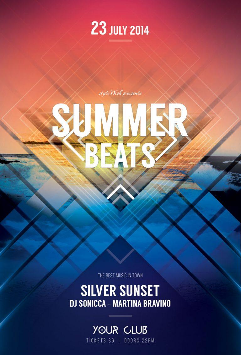 Summer Beats Flyer Template