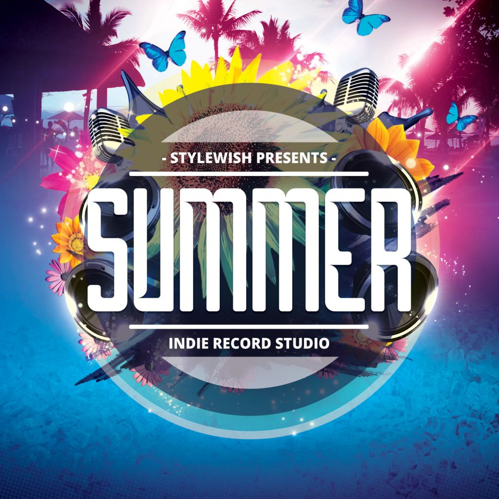 Summer CD Cover Artwork