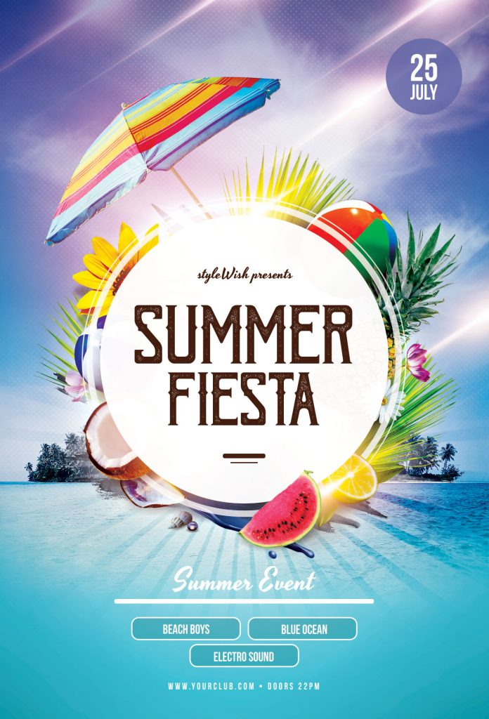 Summer Fiesta Flyer Template
