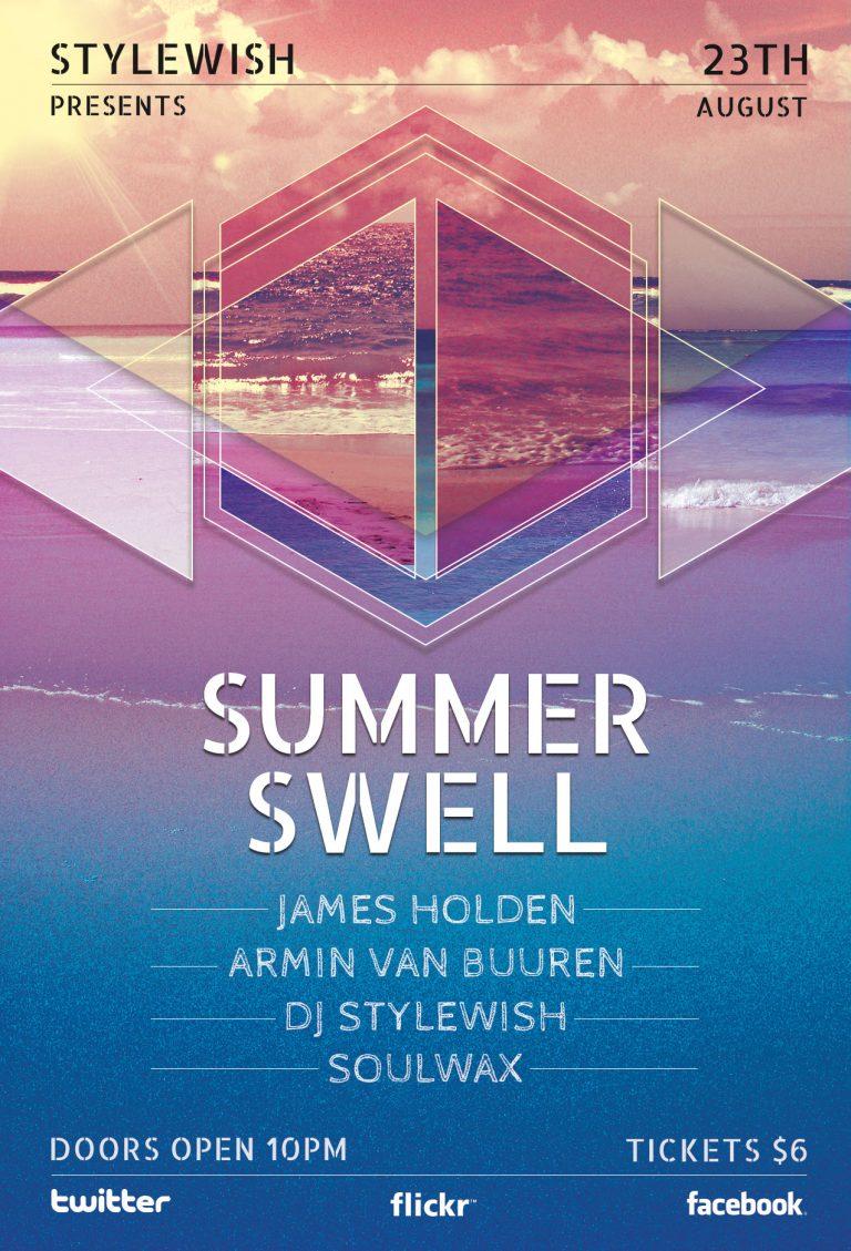 Summer Swell Flyer Template