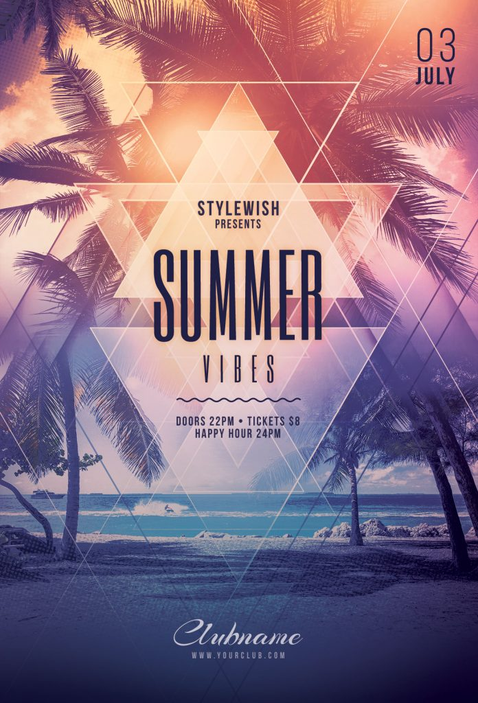 Summer Vies Flyer Template