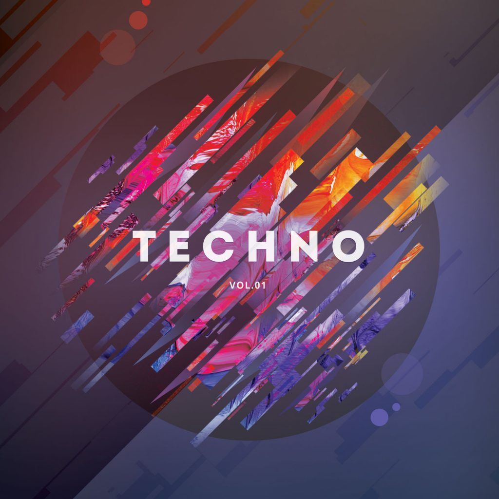 Techno CD Cover Artwork