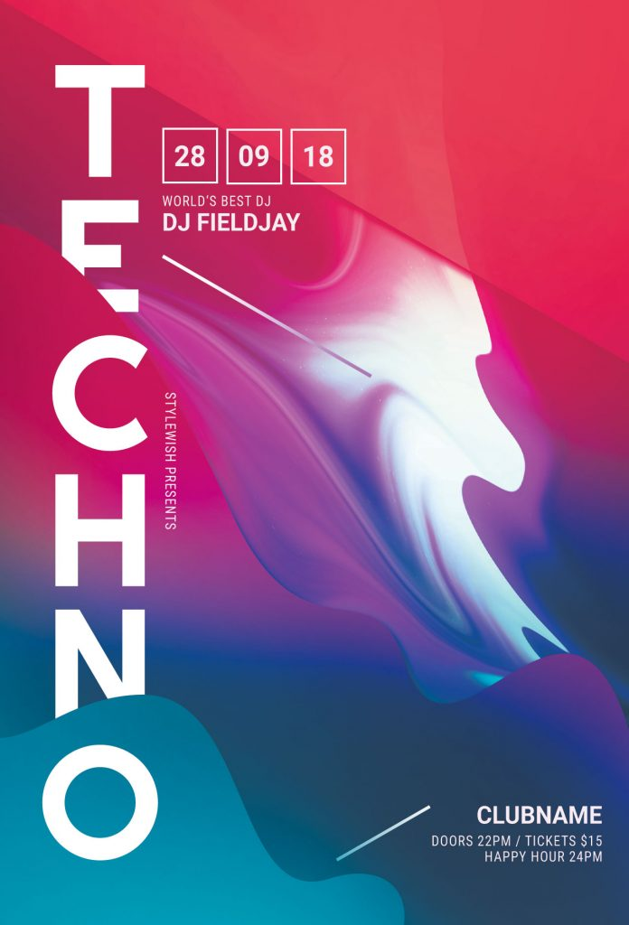 Tecno Flyer Template