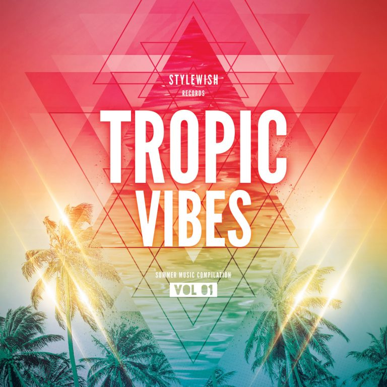 Tropic Vibes CD Cover Artwork