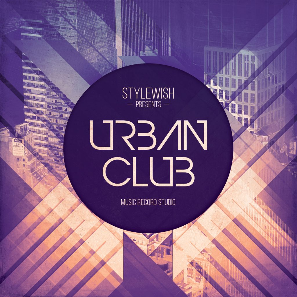 Urban Club CD Cover Artwork