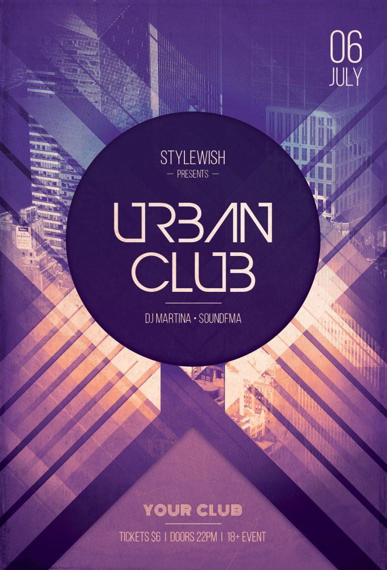 Urban Club Flyer Template
