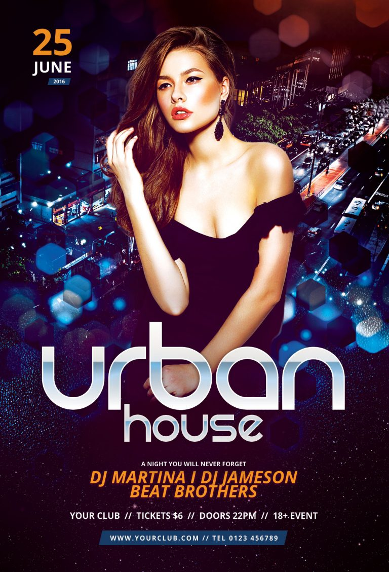 Urban House Flyer Template