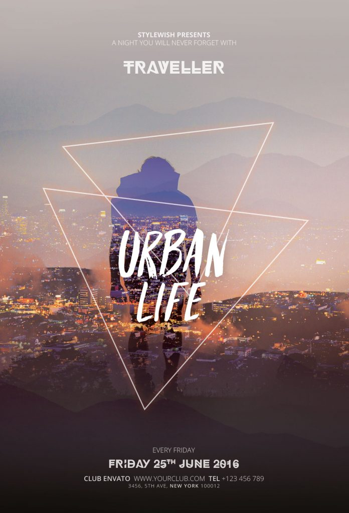 Urban Life Flyer Template