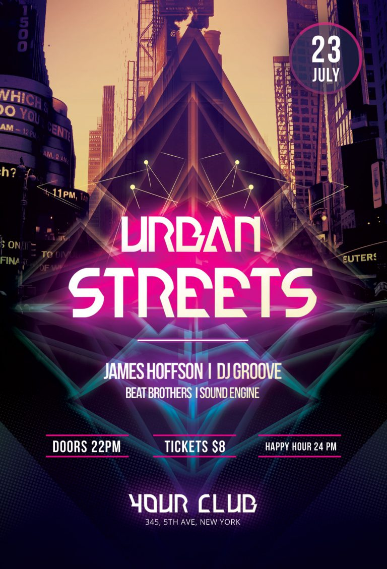 Urban Streets Flyer Template