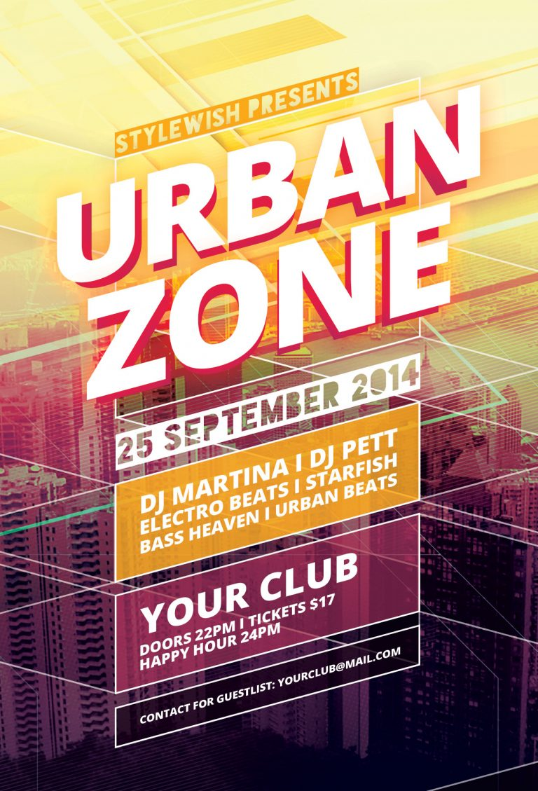 Urban Zone Flyer Template