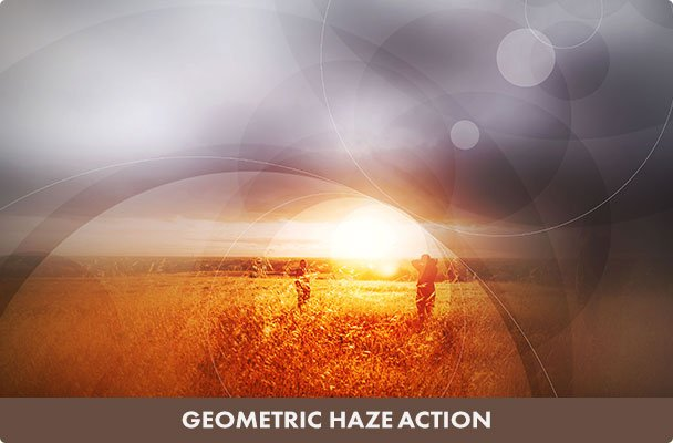 Geometric Haze Photoshop Action