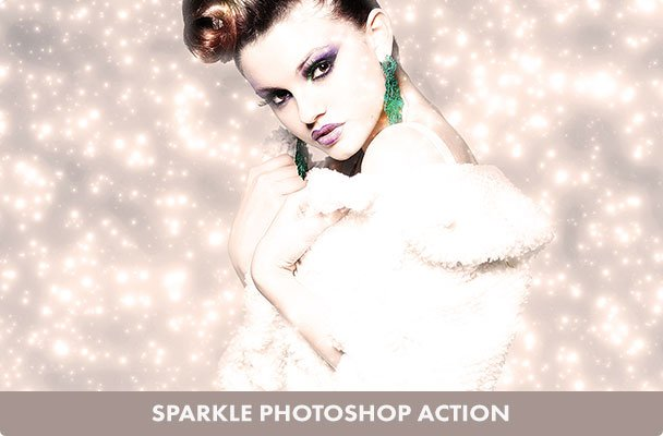 Sparkling Photoshop Action
