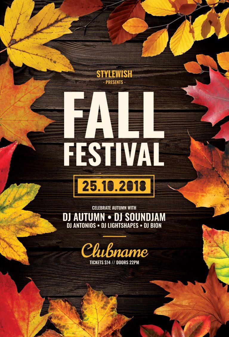 Fall Festival Flyer