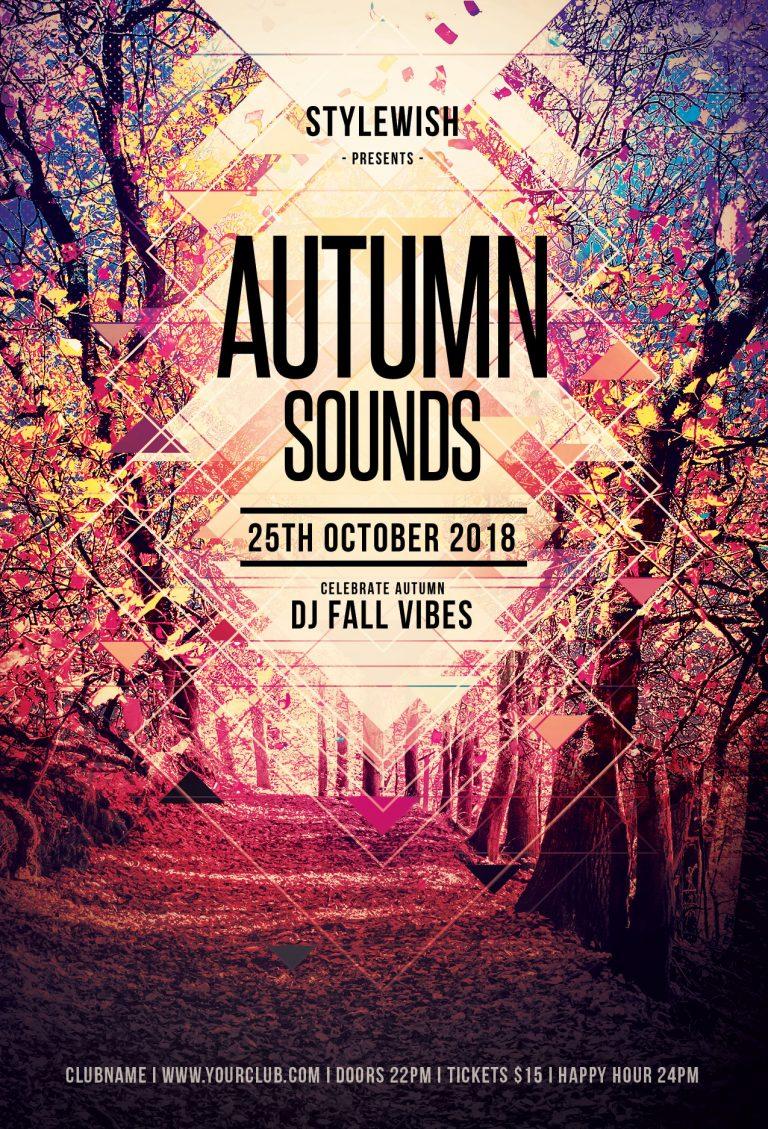 Autumn Sound Flyer