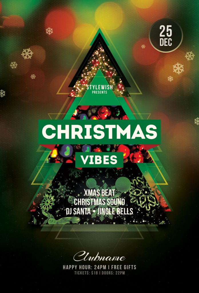 Christmas Vibes Flyer
