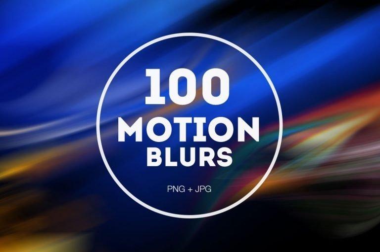100 Motion Blurs