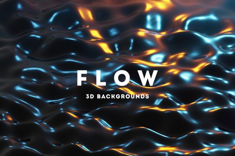 Flow - 3D Backgrounds