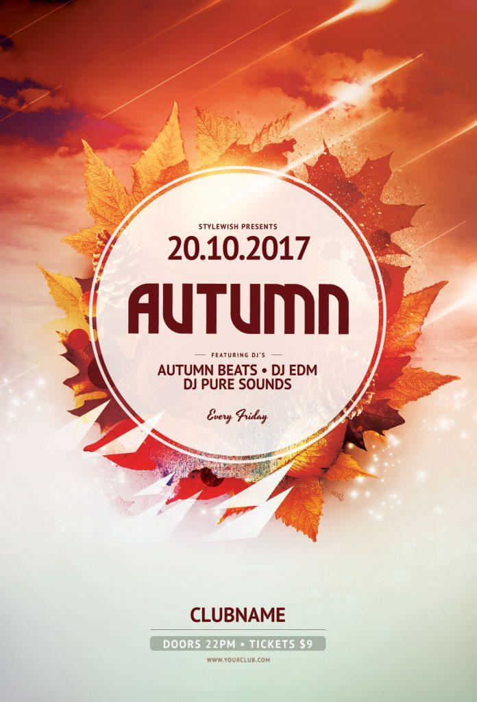 Free Autumn Flyer