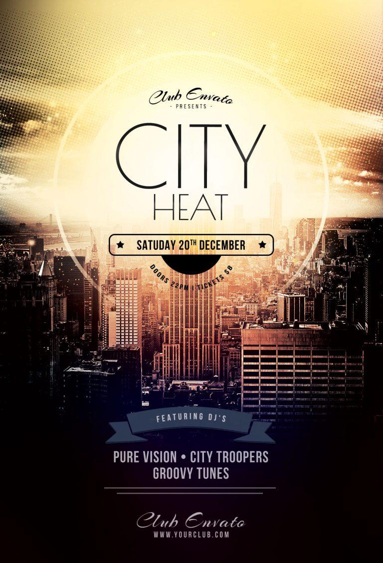 Free City Heat Flyer