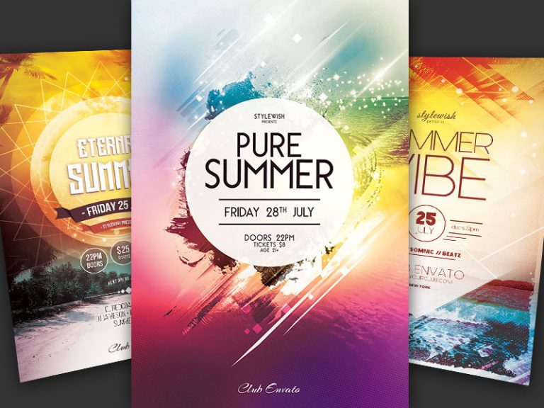 Summer Flyer Bundle Vol.11