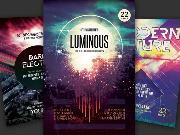 Party Flyer Bundle Vol16