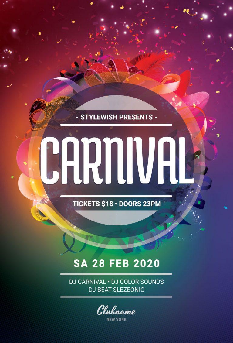Carnival Flyer