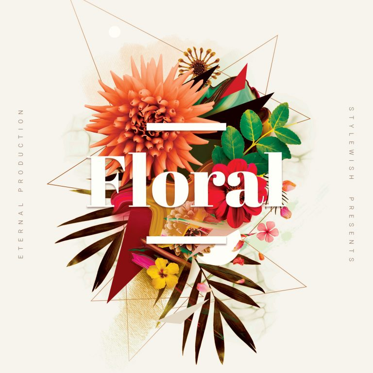 Floral CD Cover Artwork