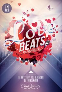 Love Beats Flyer