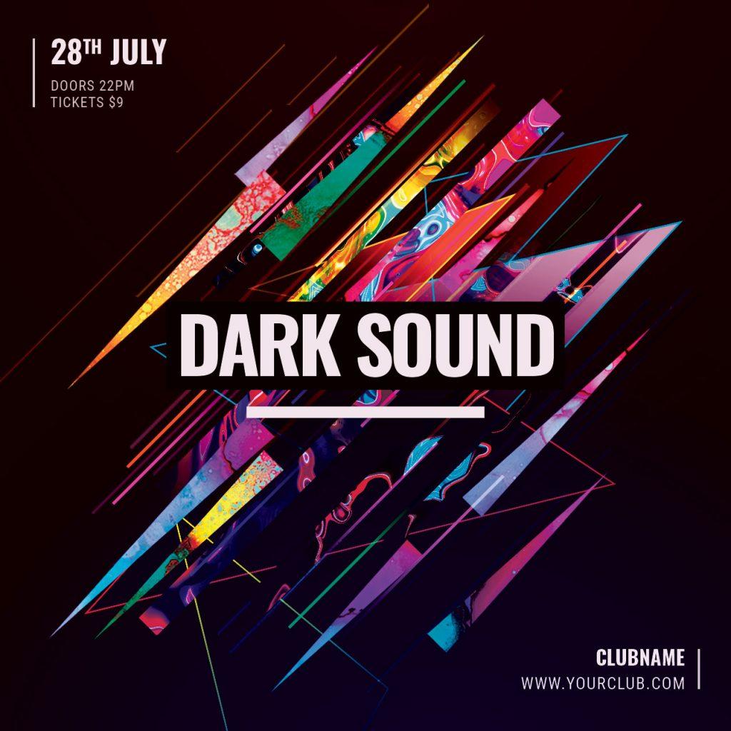 Dark Sound Flyer