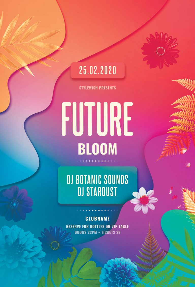 Future Bloom Flyer