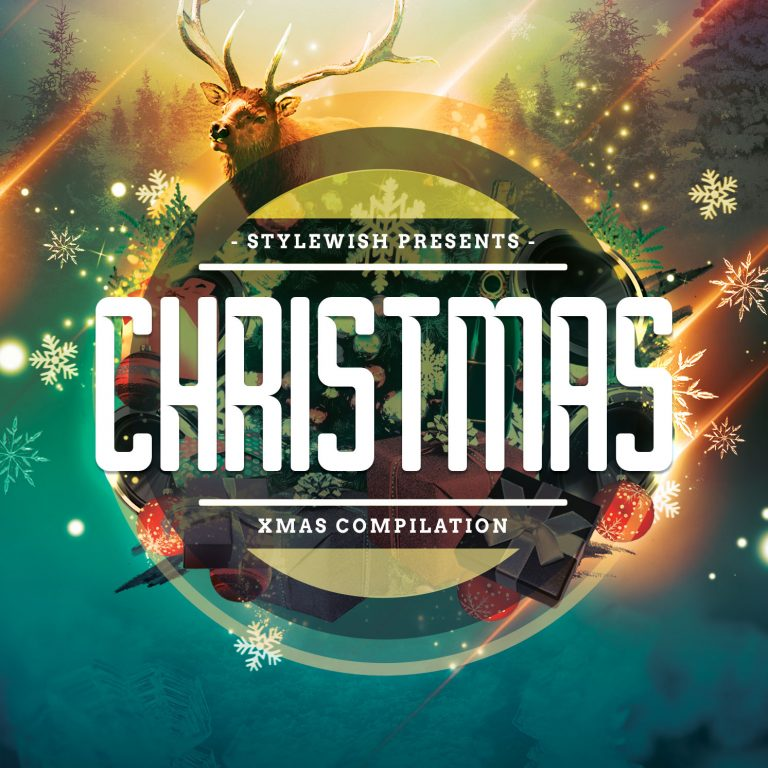 Christmas CD Cover Artwork