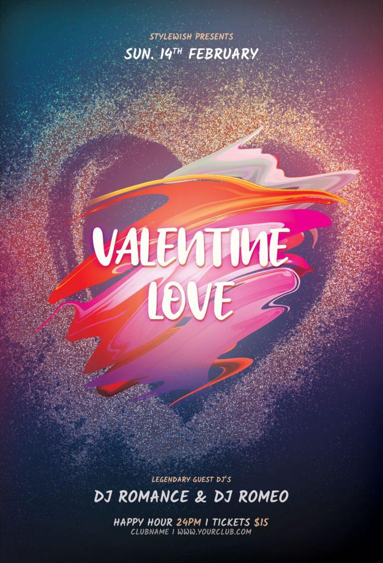 Valentine Love Flyer